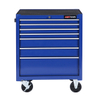 7 Drawers Us General Tool Cabinet Tool Trolley with Tools Set